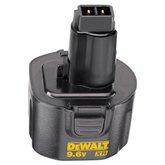 Bateria 9,6V-XR Duração Prolongada 1,7 Ah Ni-CD - DEWALT-DW9061
