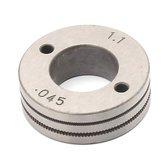 Roldana para Arame Tubular de 0,9 - 1.1 mm - LINCOLN-KP14016-1.1R