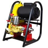 Lavadora de Média Pressão com Motor 3CV  450 Libras e Mangueira 1.600 Litros/h - SOMAR-LRS-450MONO