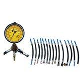 Manômetro para Teste de Pressão e Vazão da Bomba de Combustível com 17 Mangueiras - SACCH-MAPB100