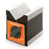 Bloco em V Magnético Individual 4 - 60mm  - DIGIMESS-310104