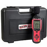 Decibelímetro Digital com Microfone - INSTRUTHERM-DEC490