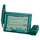 Registrador Digital de Umidade e Temperatura com Sonda Destacável - EXTECH-RH520A