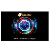 Cartão de Liberação Pack Body/Chassis para Scanner Kaptor V3 Powertrain - ALFATEST-42801044