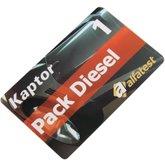 Cartão Pack Diesel 01 - ALFATEST-51501018