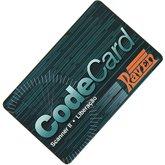 Cartão Codecard com 1 Liberação para Scanner Raven 2 - RAVEN-1086203-3