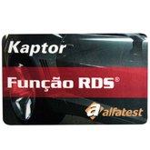 Cartão de Liberação da Função RDS do Scanner V3 - ALFATEST-CLRDS