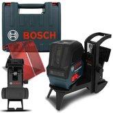 Nível Laser de Linhas GCL 2-15 Profissional com Gancho e Maleta - BOSCH-0601066E02-000