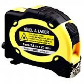Nível a Laser com Trena 7,5 mm x 25 mm - WESTERN-7HL10X