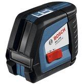 Nível Laser de Linhas 50 Metros Profissional com Suporte Universal BM 1 - BOSCH-GLL2-50+BM1