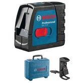 Nível a Laser 15 Metros Profissional + Case - BOSCH-GLL-2-15+CASE