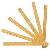 Escala Métrica de madeira 2 Metros - NOVE 54-3555000302