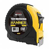 Trena Emborrachada Manual 5m x 19mm com Trava - HAMMER-GYTE5190