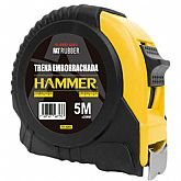 Trena Emborrachada Manual 5m x 25mm com Trava  - HAMMER-GYTE5250