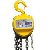 Talha manual de corrente 3000Kg 5 Metros CSM - CSM-TC3000-5