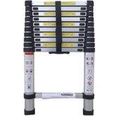Escada Telescópica em Alumínio com 10 Degraus - BOTAFOGO-ESC0349
