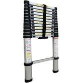 Escada Telescópica em Alumínio com 12 Degraus - BOTAFOGO- ESC0350