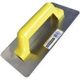 Desempenadeira de Aço Inox com Cabo de PVC Lisa - MOMFORT-404010