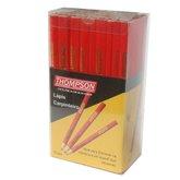 Jogo de Lápis para Carpinteiro 72 Peças - THOMPSON-874