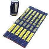 Conjunto de Apotador e 6 Lápis para Carpinteiro  - IRWIN-13827