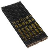 Jogo de Lápis para Carpinteiro e  Marceneiro com 12 Peças - BLACK JACK-D230