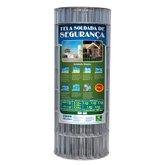 Tela Soldada de Segurança 150x50mm Fio 2,3mm Altura 1,50m - MORLAN-2726
