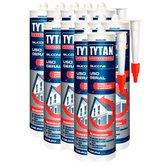 Kit com 12 Silicones Incolor 280g para Uso Geral - TYTAN-K84