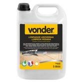 Limpador Universal de Limpeza Pesada Biodegradável 5 Litros - VONDER-5183100500