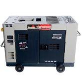 Gerador de Energia Cabinado 12,65 kVA à Diesel 220V Trifásico - TDWG12000SGE3D - TOYAMA-55-1112
