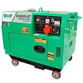 Gerador de Energia a Diesel Silenciado Trifásico 6,5KVA  com Partida Elétrica - EMIT-E6500DS-ET