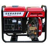 Gerador de Energia a Diesel 4T Monofásico 2,2KVA Bivolt  - MOTOMIL-MDG2200CLE