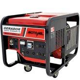 Gerador de Energia a Gasolina 11KVA Monofásico 220V / Trifásico 380V - MOTOMIL-MGT11000CLE