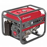 Gerador de Energia a Gasolina 15CV Partida Manual 110/220V - BRANCO-B4T8000