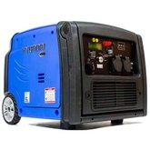 Gerador à Gasolina Inverter Partida Elétrica 3.2kva Monofásico  - HYUNDAI-HY3200SEi