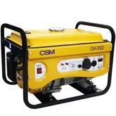 Gerador de Energia Portátil a Gasolina 4T Partida Manual 3,5 Kva 110/220v - CSM-GM-3500