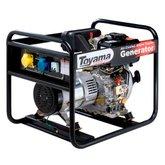 Gerador de Energia Diesel Monofásico Linha Econômica 4 Tempos Bivolt - TOYAMA-TD4000CS