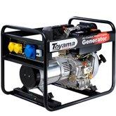 Gerador de Energia Diesel Monofásico Linha Econômica 4 Tempos Bivolt - TOYAMA-T6000CS