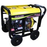 Gerador de Energia a Diesel 4T Partida Elétrica 6 kva 110/220V - NAGANO-ND7000E