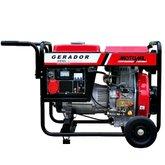 Gerador de Energia à Diesel 4T Partida Manual 6,5 Kva 110/220V - MOTOMIL-MDG-6500CLE