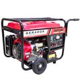 Gerador de Energia à Gasolina 4T Partida Manual 8 Kva 110/ 220 V - MOTOMIL-MGG-8000CLE