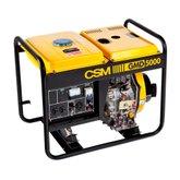 Gerador de Energia Portátil a Diesel Monofásico 6HP 4,5kVA 110/220V - CSM-GMD5000