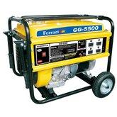 Gerador de Energia à Gasolina 4T Partida Manual 5,0 Kva 110/220V - FERRARI-GG-5500