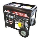 Gerador à Diesel 6.000W Bivolt Partida Elétrica 418CC - TOYAMA-TD7000CXE