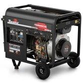 Gerador de Energia a Diesel Monofásico 6,5KVA Bivolt  - TOYAMA-TDG8000CXE