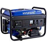 Gerador de Energia à Gasolina Monofásico Partida Elétrica 2.8Kva - HYUNDAI-HHY3000FE