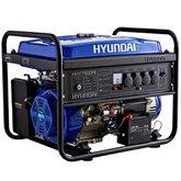 Gerador de Energia à Gasolina Monofásico 110/220v Partida Elétrica 7.0Kva - HYUNDAI-HHY7500FE