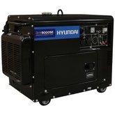 Gerador de Energia à Diesel 7.0Kva Silenciado Monofásico Bivolt Partida Elétrica - HYUNDAI-DHY8000SE