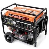 Gerador de Energia à Gasolina 4T Partida Elétrica com Bateria 7,20kVA Bivolt - VULCAN-VGE7200