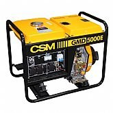 Gerador de Energia à Diesel Monofásico 4,5Kva Bivolt - GMD 5000E - CSM-4.01.44.437