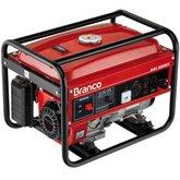 Gerador de Energia à Gasolina 2,2Kva Bivolt B4T-2500S - BRANCO-B4T 2500S